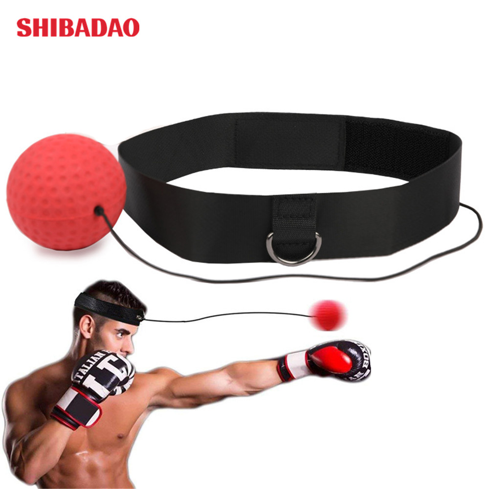 Kopf-auf boxen reaktion ball boxen magie ball kampf boxing training ball