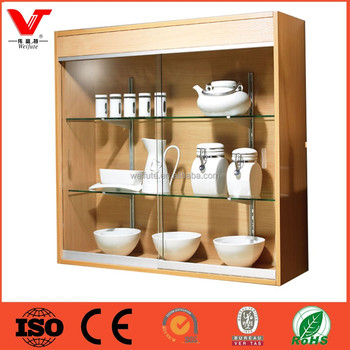 Wall Mount Glass Display Cabinets For Chinaware Buy Wall Mount