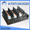 we do customs clearance every country gsm modem 64 port sms modem 3g modem with software included for sms business