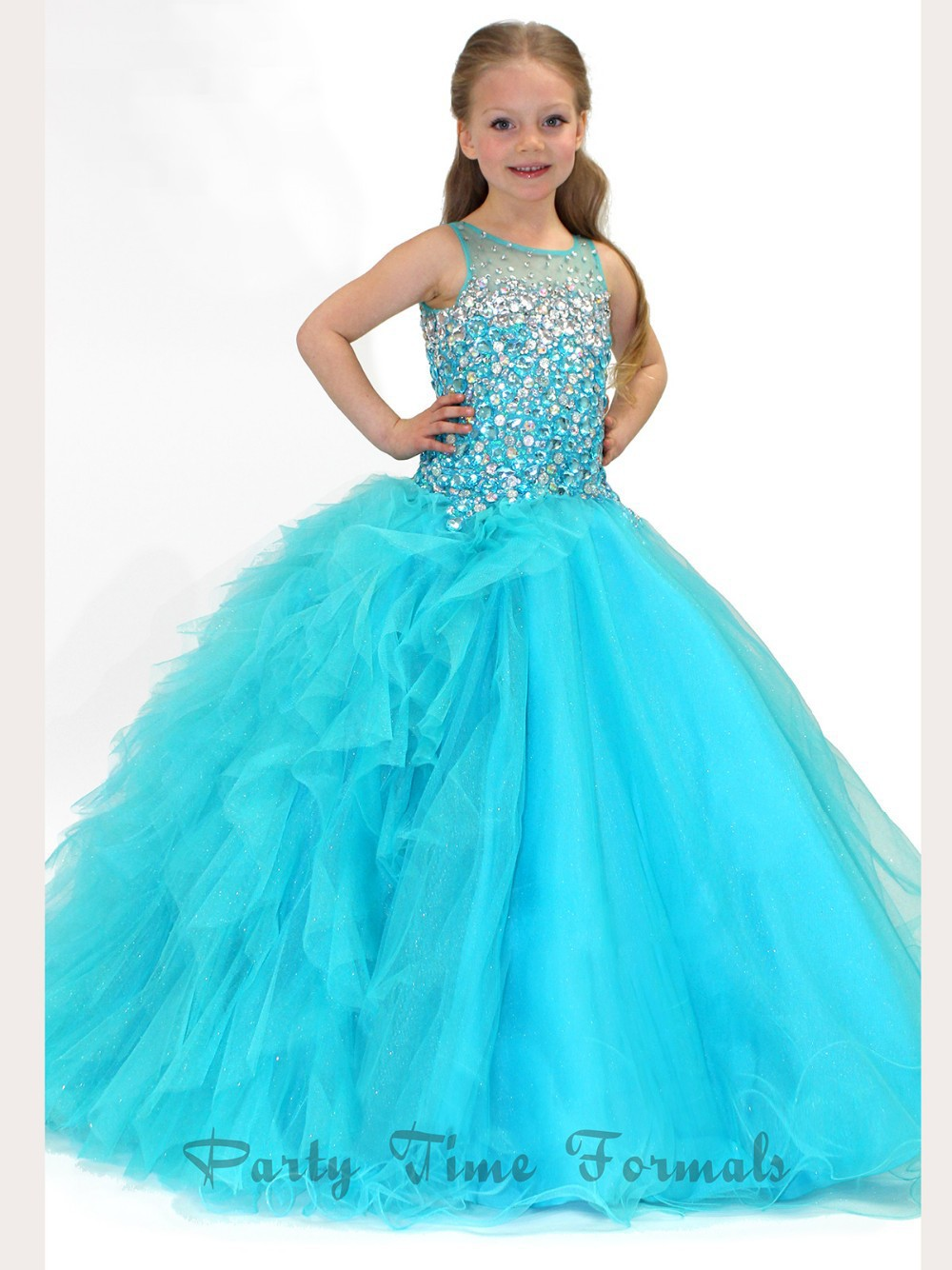 Cheap Turquoise Little Girl Dresses, find Turquoise Little Girl ...