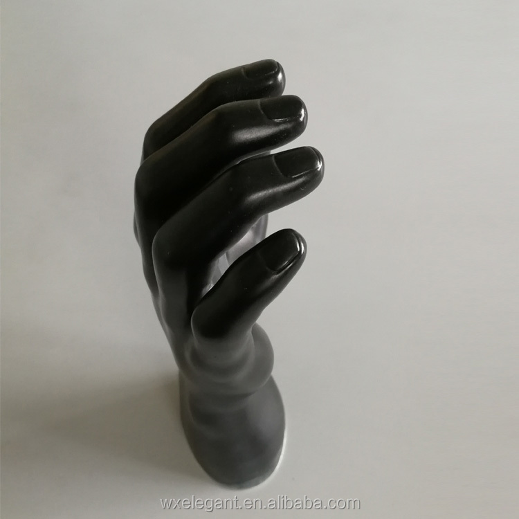 Durable quality showcase display flexible mannequin hand Fiberglass material mannequin hands for sale