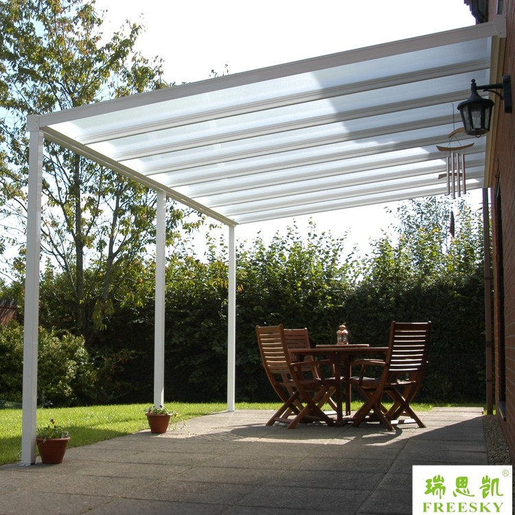 Waterproof Cheap Portable Indoor Aluminum Gazebo Awning Canopy Patio Cover