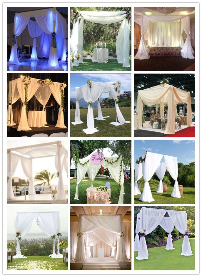 Adjustable backdrop pipe and drape church backdrops church for Backdrop decoration for church