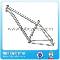 China factory outstanding titanium mtb bike 29 with curving Down tube for saleTSB-ODM1301