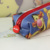 Top quality safety cartoon picture difficult deformation silicone pencil case bags handbags coin purse