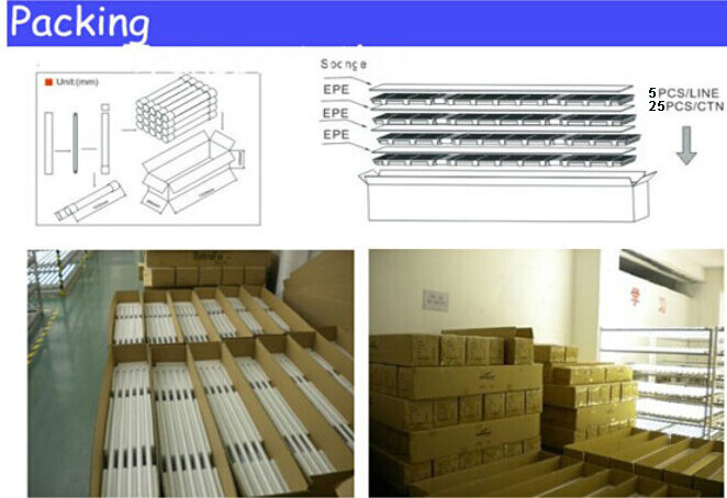 Factory Direct Sales 240 Degree V Shape Refrigerator Led