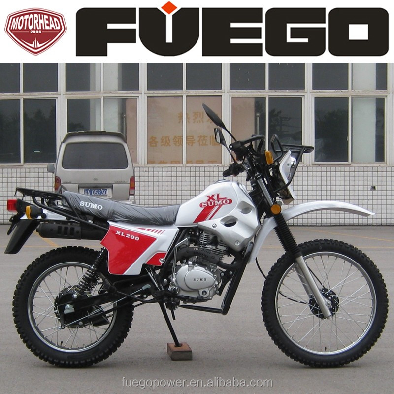 Cheap Cargo Motorcycle With Silence Exhaust Muffler Dirtbike 200cc Drum Brakes Motorbike Sports