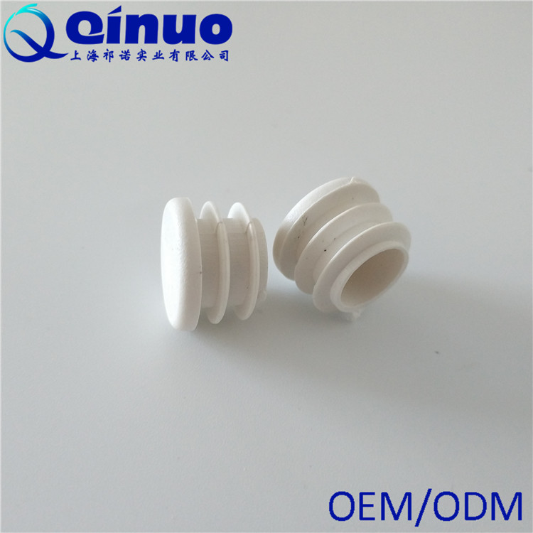 Factory Price Plastic White Blanking Tube End Caps Round Tube Pipe Plug