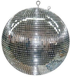 Dj lights Rotating Large Disco Mirror Ball with Motor for Night Club LED Stage Lights Price