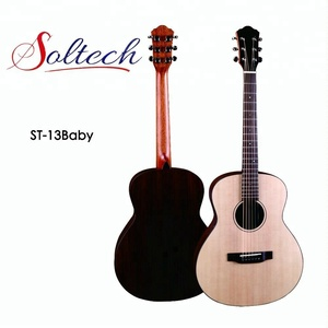 ST-13Baby China Guizhou Zheng'an Korea style Factory Acoustic Guitars with 6 strings