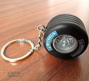 Car Tyre Shape Keychain Auto Parts Keychain