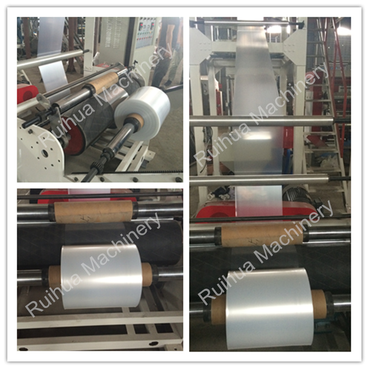 Good Price Top Quality Biodegradable Plastic Bag Making Use PE Film Blowing Machine for Sale