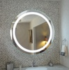 Customized Anti Fog Led Mirror, Fogless Bathroom Wall Led Mirror
