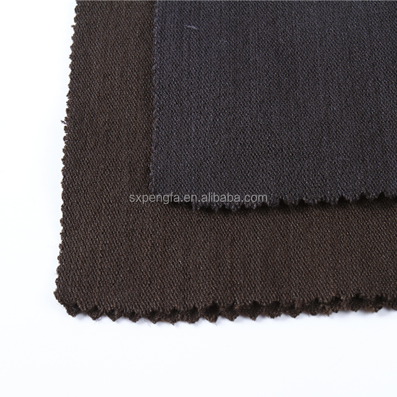 factory directly manufactured warp slub plain R N T blend fabric for garments