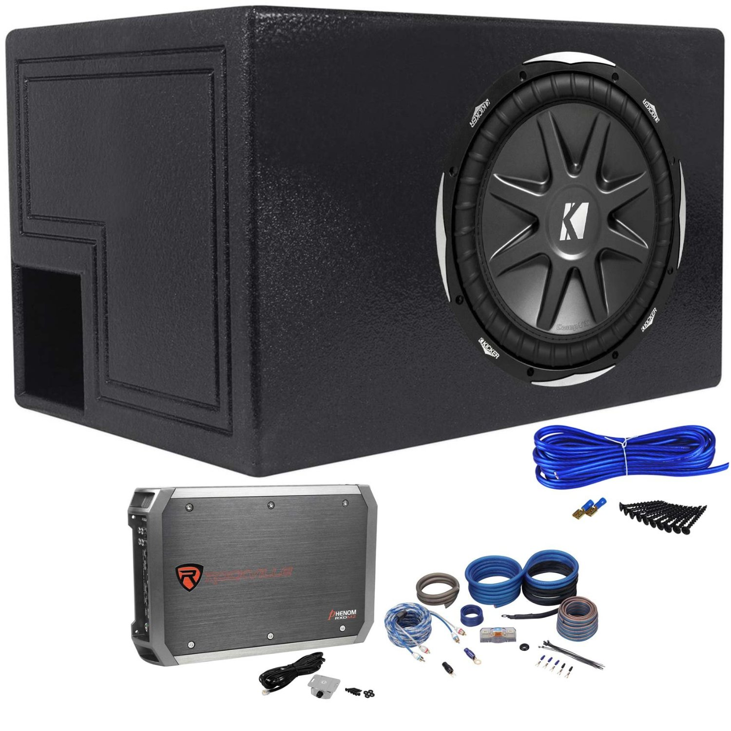 Cheap 2ohm Amp Find Deals On Line At Alibabacom Vibe Stereo Kit 8 Gauge Amplifier Wiring 1500w Audio Images Get Quotations Package Kicker 10cvx12 2 Ohm 12 Subwoofer Peak 750w Rms