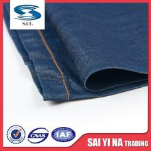 2016 put a denim fabrics order on china factory production, tencel blending jeans fabrics