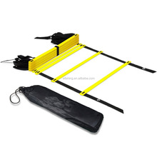 Wholesale 15ft Original Quick agility Ladder, Flat Rung Agility and Acceleration Training, Develop Explosive Power