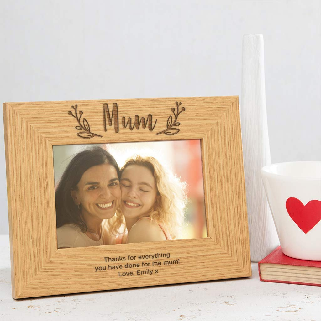 Buy All Things For Mom Walk With Me Mommy Picture Frame With Burlap