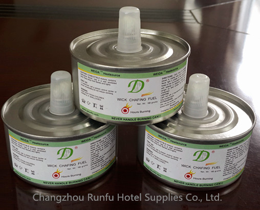 plastic cap wick chafing fuel for food heating