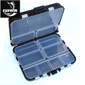 16 Compartments Double Sided Storage Case Fishing Lure Spoon Hook Bait Tackle Connector Case Box Fishing Tackle Box