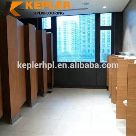 Kepler 12mm Compact Hpl Commercial Bathroom Toilet Partitions And Urinal Partition