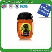 Free sample 1oz travel pocket bac antiseptic hand sanitizer china supplier