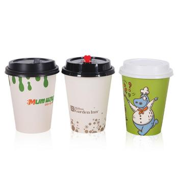 Factory Price Eco-friendly Custom Printed Drinking Water Cup Disposable Ice Cream Craft Paper Coffee Cup