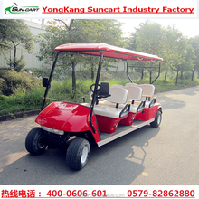 CE approved 6 seater mini unsed cheap electric golf car for sale