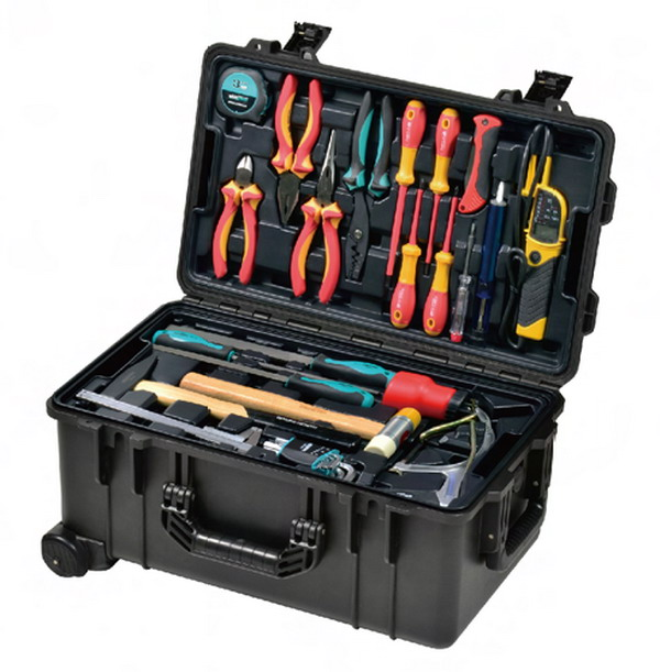 Tool Trolley Case Set With Vde Tools Buy Tool Set Tool