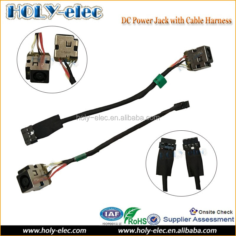 HQMETPARTS Supplies for AC DC Power Jack Harness Socket w//Cable for HP PROBOOK 4540S 4545S 676706-YD1