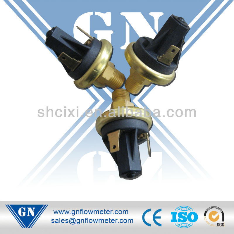 steam pressure switch