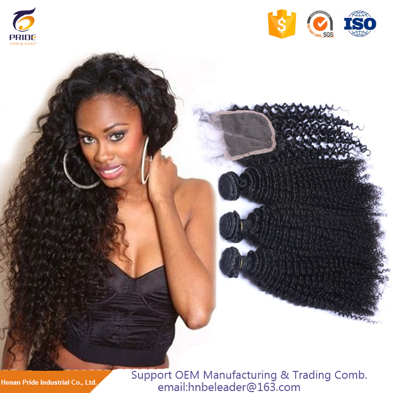2017 China best sale wholesale kinky curly remy virgin indian hair