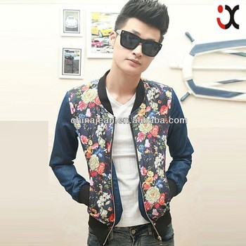 9e749f315 Fashion Denim Jacket For Men Printed Jeans Jackets Oem Denim Jacket ...