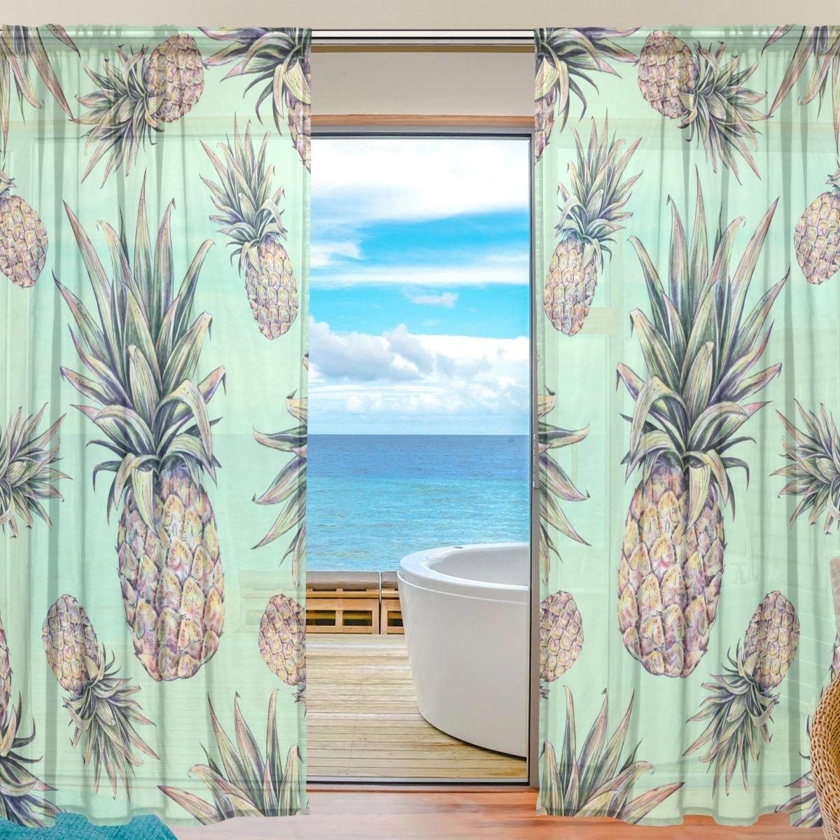 Cheap Light Green Sheer Curtains Find Light Green Sheer Curtains Deals On Line At Alibaba Com