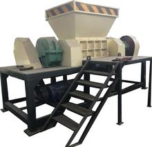 Afval <span class=keywords><strong>Plastic</strong></span> Film Dubbele As <span class=keywords><strong>Shredder</strong></span>/Geweven Zakken Shredding Machine
