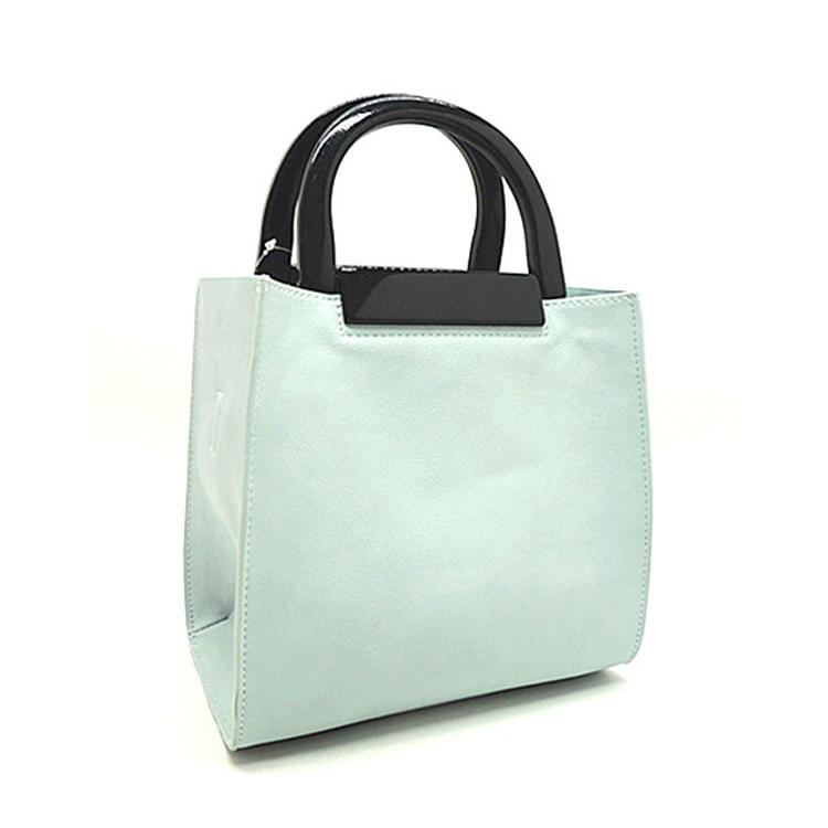 2017 Hot Trend Brand Designer Light Grey Lady Pu Bags Women Handbags