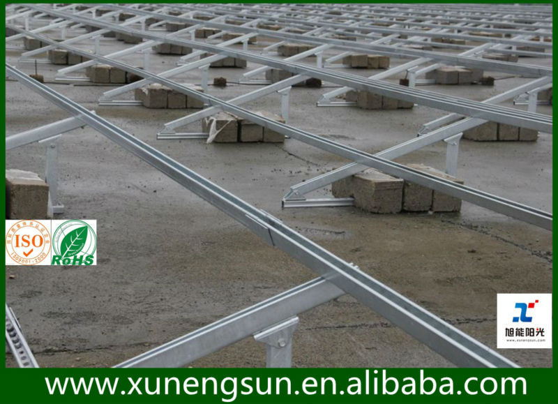 Solar Mounting Structure Adjustable Solar Mounting Bracket