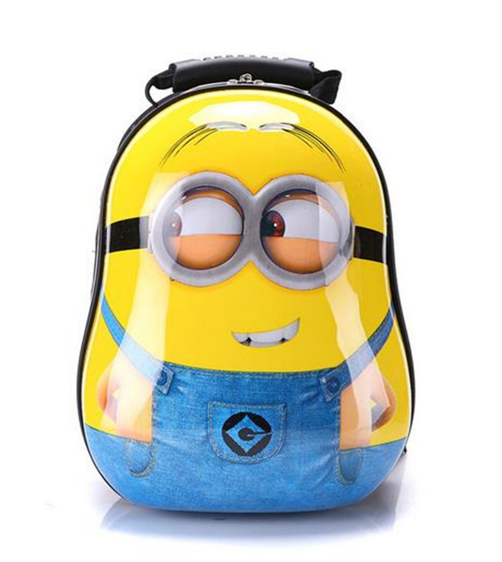 Buy Anime Cute Minions Fashion Kids School Backpacks 12 inch Popular Shell School  Bags For Girls and Boys New Year Gifts E500E in Cheap Price on m.alibaba.  ... 9348d06189b5f