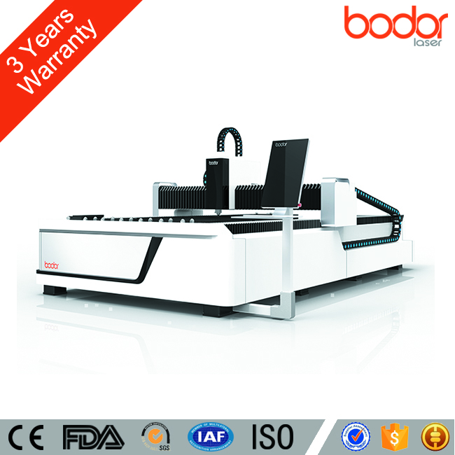 Bodor Laser 3 Years Warranty 500w 1000w 2000w Metal Fiber Laser Cutting Machine with CE FDA Certificate