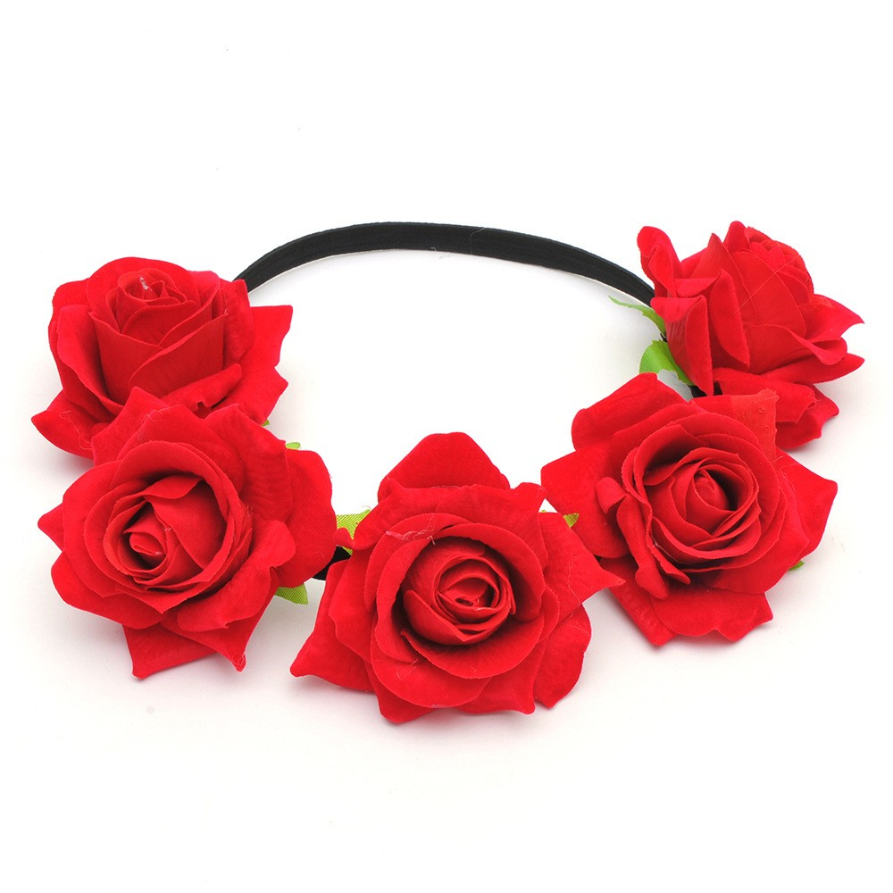 Headband flower crown headband flower crown suppliers and headband flower crown headband flower crown suppliers and manufacturers at alibaba izmirmasajfo Images