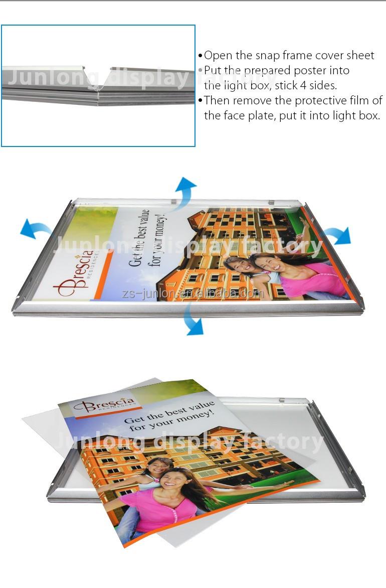 Finden Sie Hohe Qualität Schwarzlicht Plakatrahmen Hersteller und ...
