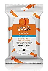 Yes To Carrots Fragrance-Free Gentle Cleansing Wipes, 25 Count + Curad Bandages 8 Ct. Desert Essence Age Reversal Renewing Gel Cleanser, 6.4 oz, 6 Pack