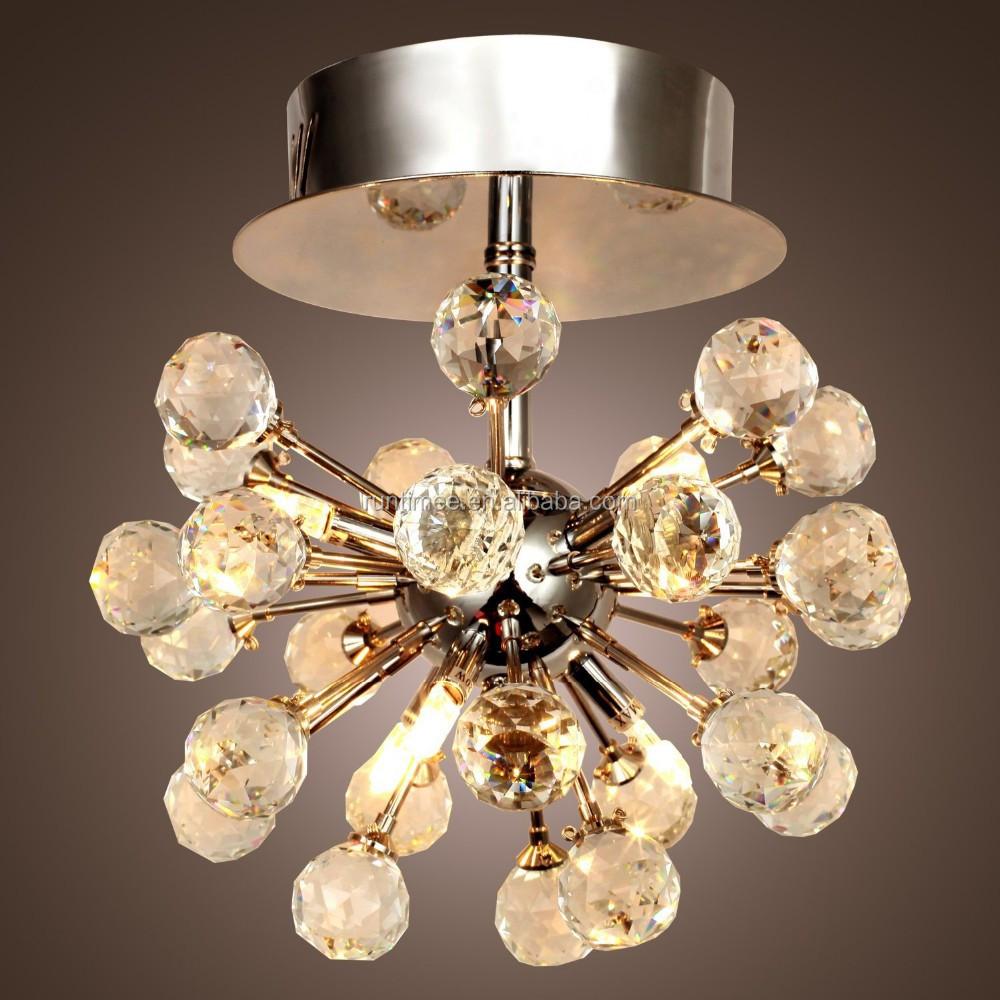 K9 Lampadario di Cristallo con 6 Luci in Forma Globe Mini Lampadari ...