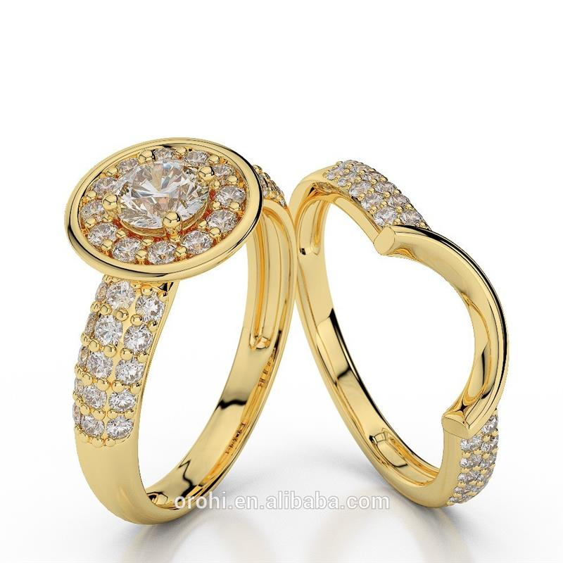 elegant wedding jewelry diamond couple rings yellow gold womens wedding rings engagement rings em29 - Elegant Wedding Rings