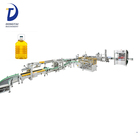Automatic Edible oil sunflower oil Olive oil filling and packaging equipment production line