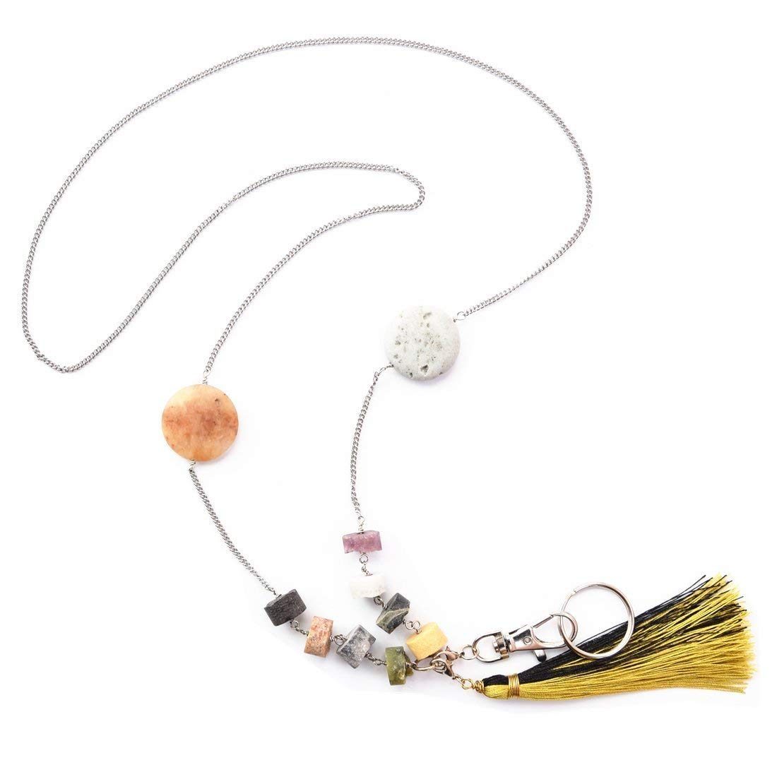 Buy Lanyard for Woman Badge Lanyards Necklace with ID Holder for