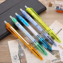 New Fancy Plastic Promotion Advertising Pen with Pull Out Banner