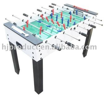 Modern White Standard Size Household Foosball Soccer Table