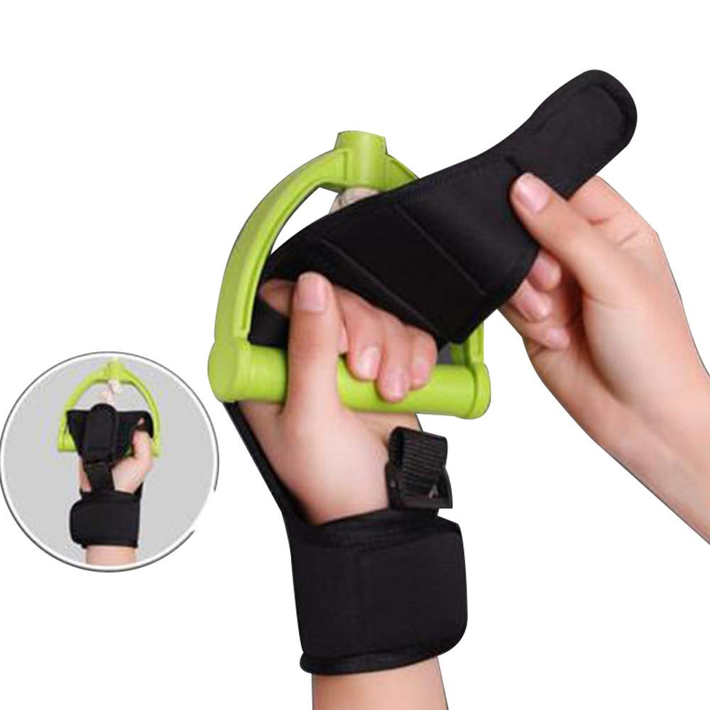 Finger Splint Brace Ability,Risingmed Finger Gloves Brace Finger Anti-Spasticity Rehabilitation Auxiliary Training Gloves for Stroke Hemiplegia Patient and Athlete Finger Rehabilitation - Single Hand