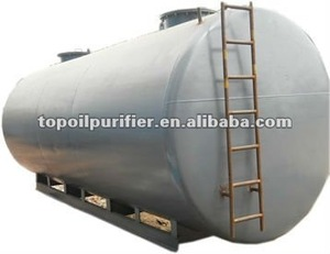 Different sizes high quality carbon steel industrial oil storage tank